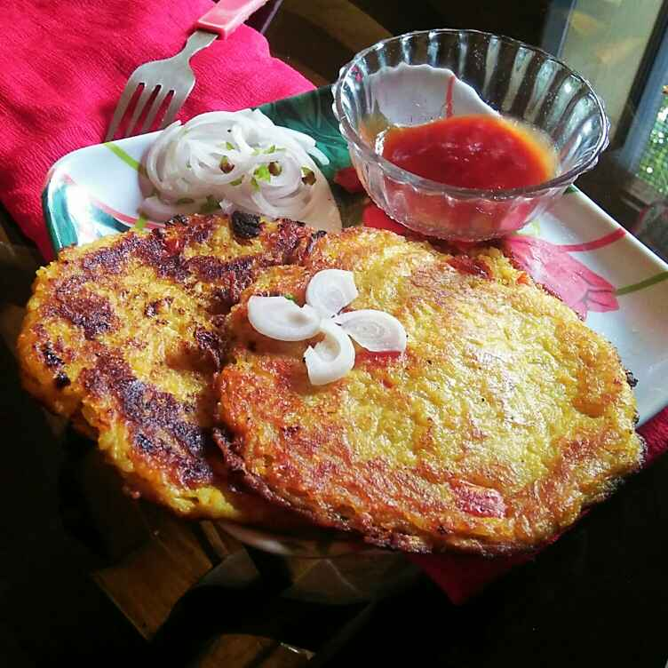 Photo of Masala Rice Pancake by Sanjhbati sen at BetterButter