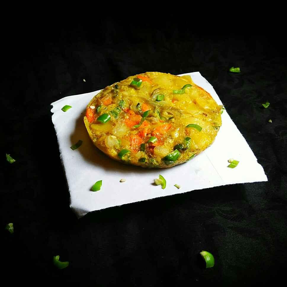 Photo of Korean egg veggies pancake by Sanjhbati sen at BetterButter