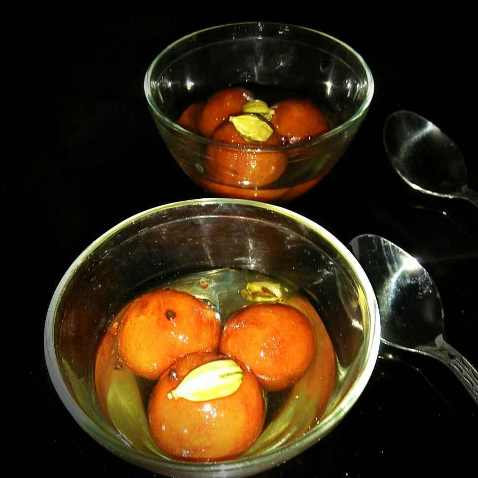 Photo of Instant Bread gulab jamun by Sanjhbati sen at BetterButter