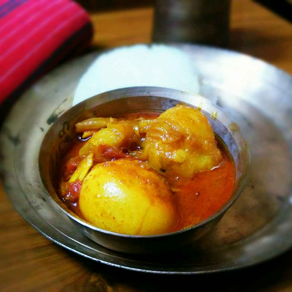 Photo of Homemade Egg Curry by Sanjhbati sen at BetterButter