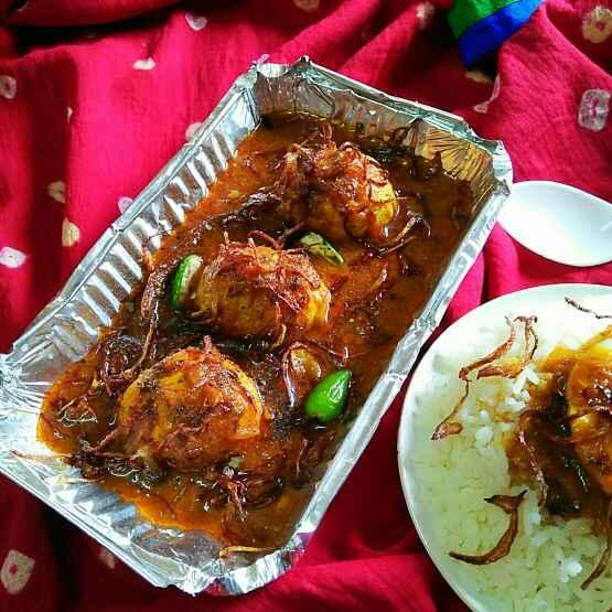 Photo of Masala Egg Dopeyanja by Sanjhbati sen at BetterButter