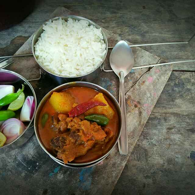 Photo of Railway Chicken Curry by Sanjhbati sen at BetterButter