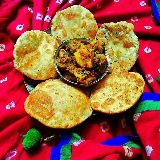 Photo of Dal puri with sukha jeera alu by Sanjhbati sen at BetterButter