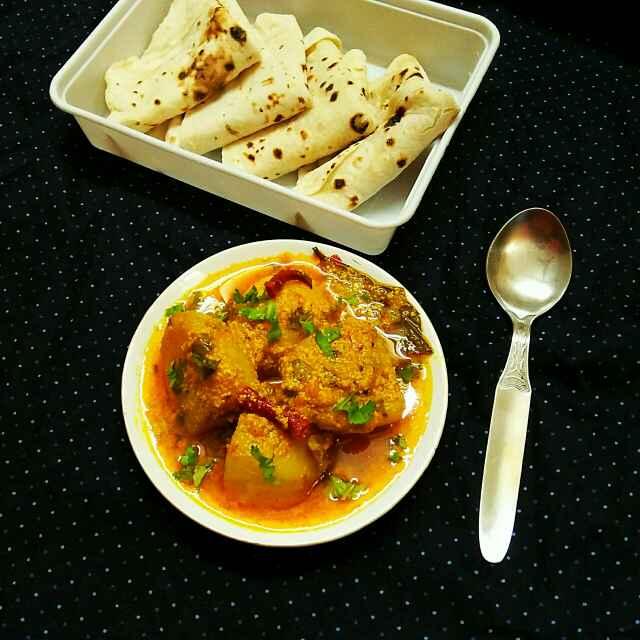 Photo of Veg Aloo Dum in Microwave by Sanjhbati sen at BetterButter
