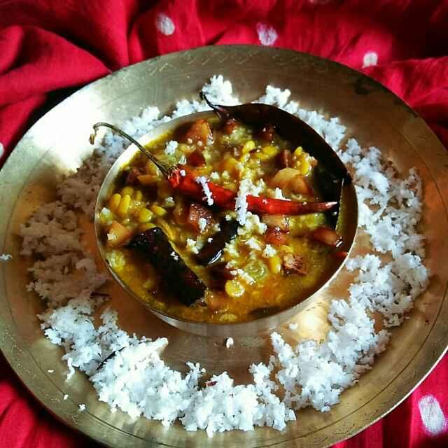 Photo of Bengali style coconut chana dal by Sanjhbati sen at BetterButter