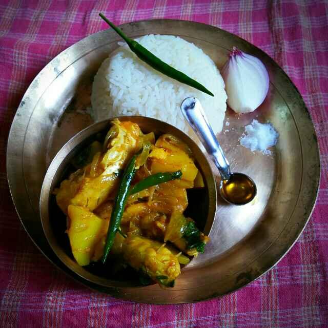 Photo of Bengali style Katla Fish curry by Sanjhbati sen at BetterButter
