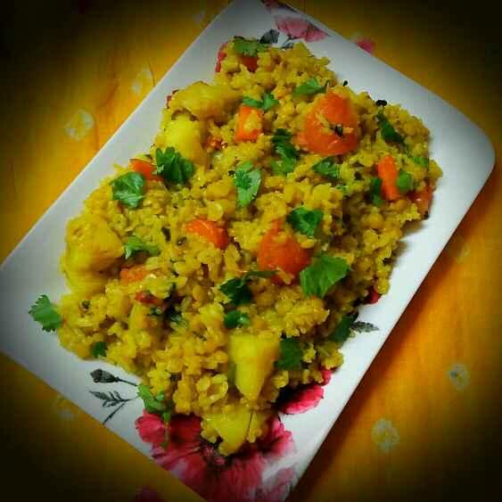 Photo of Mixed khichri by Sanjhbati sen at BetterButter