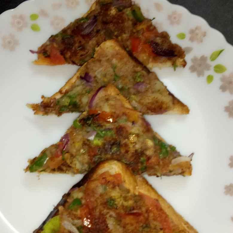 Photo of Pao bhaji masala toast by Sanjukta Chowdhury at BetterButter