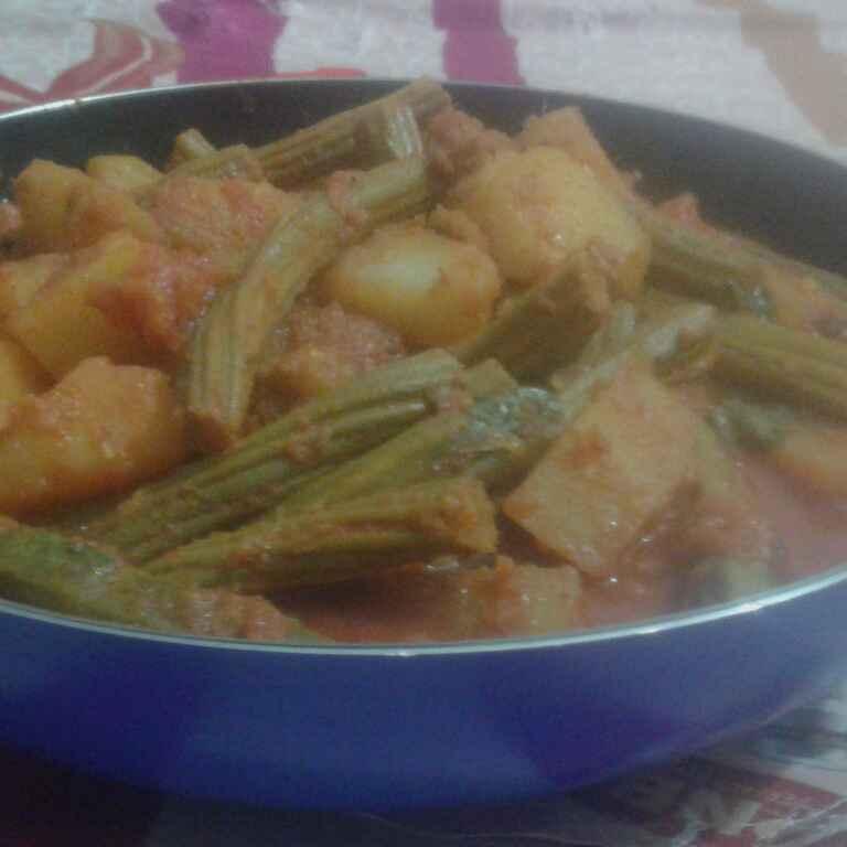 Photo of Drumstick alu curry by Sanjukta Panda at BetterButter