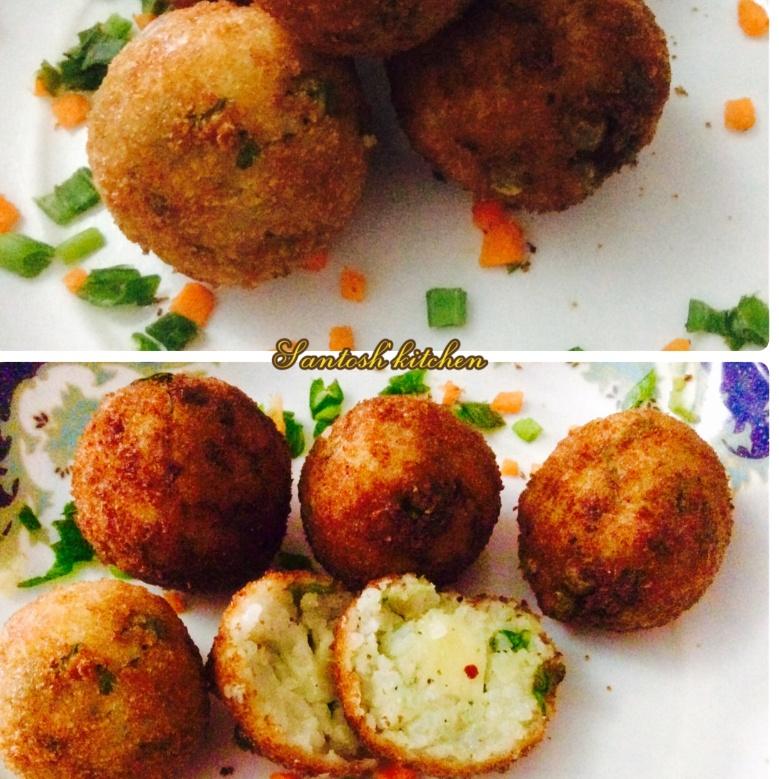 How to make Cheesy Rice Balls