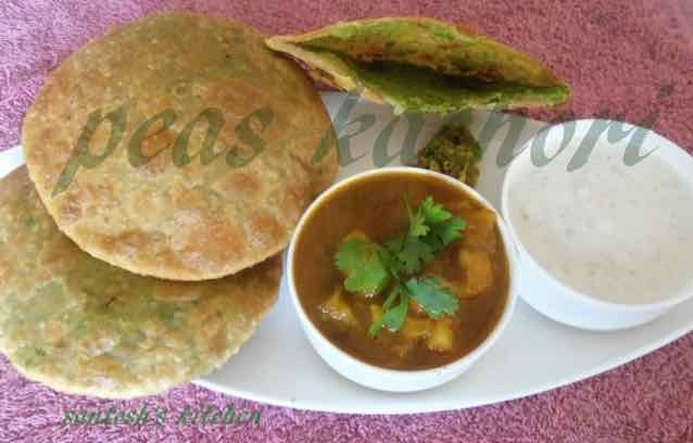 Photo of Peas Kachori  by Santosh Bangar at BetterButter
