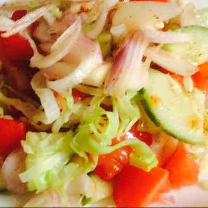 Photo of Onion tomato salad.......Desi salad by Santosh Bangar at BetterButter