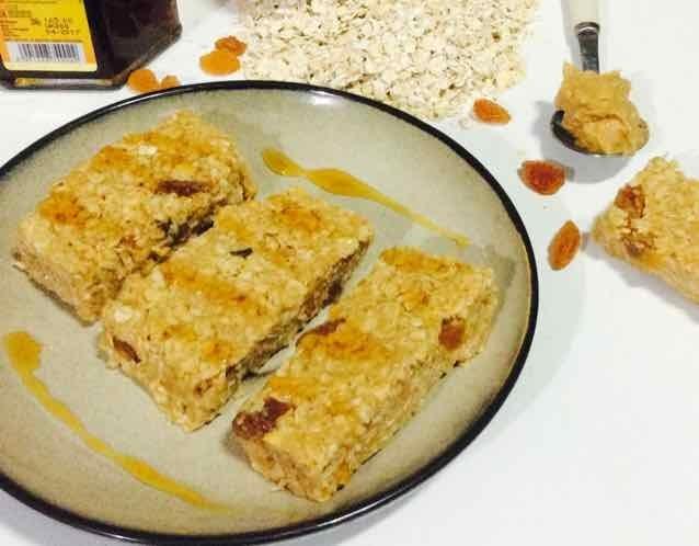 How to make Honey Peanut Butter Oats Bars