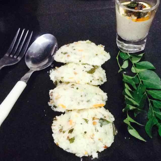 Photo of bottle Gourd&samak rice rava idli...fat free by Santosh Bangar at BetterButter