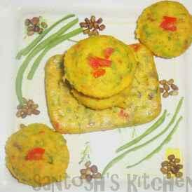 Photo of Oats mix veggis muffins by Santosh Bangar at BetterButter