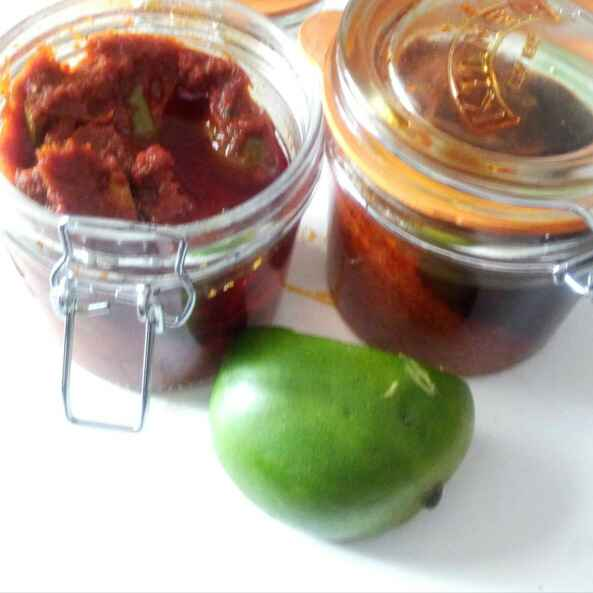 Photo of Aam achar ,andhra style by Santosh Bangar at BetterButter