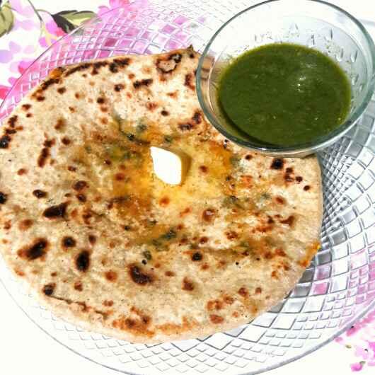 Photo of Methi Mooli paratha by Sanuber Ashrafi at BetterButter