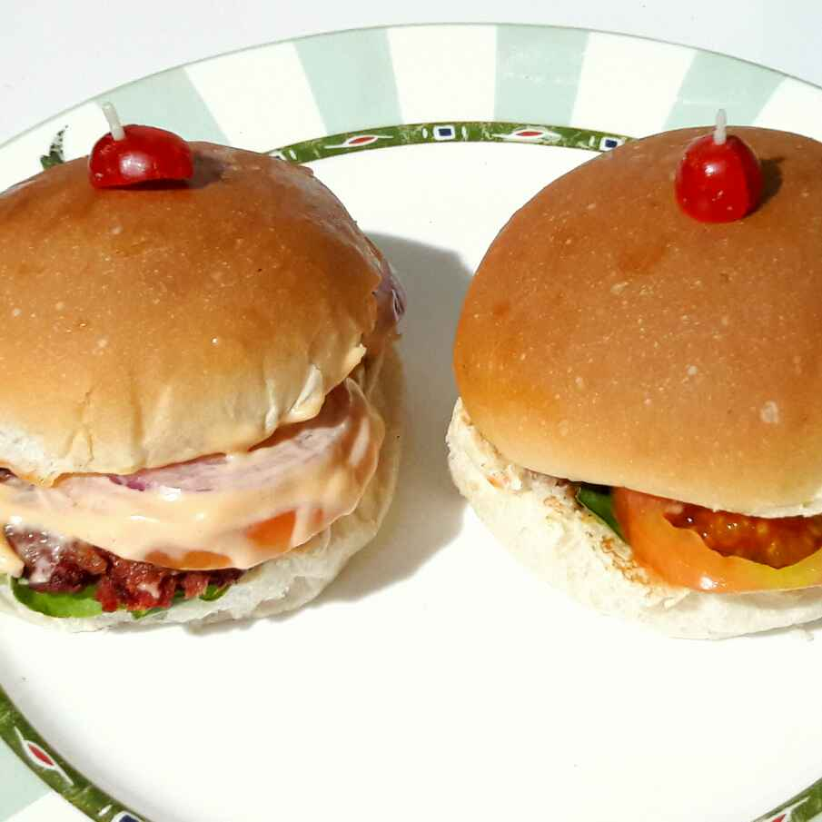Photo of Nutritious Burger by Sanuber Ashrafi at BetterButter