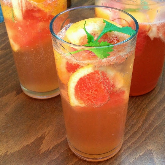 How to make Grapefruit Slushie