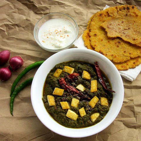 How to make Tofu Saag