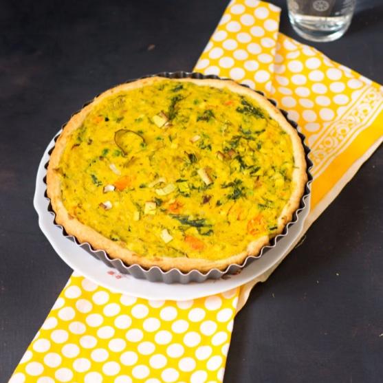 How to make Mustard & Leek Quiche