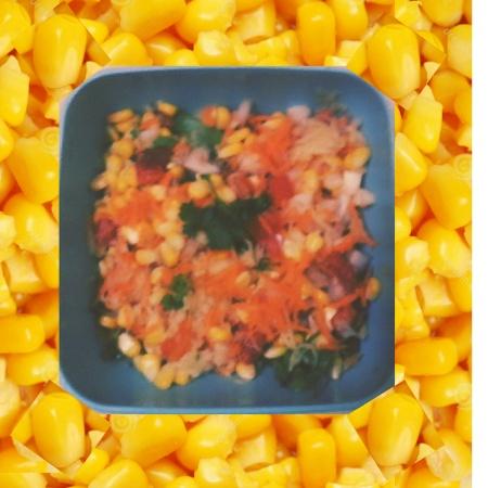How to make Sweet Corn Chaat