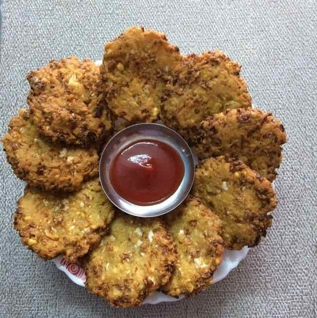 Photo of cabbage vada by Sarada Ratnam at BetterButter