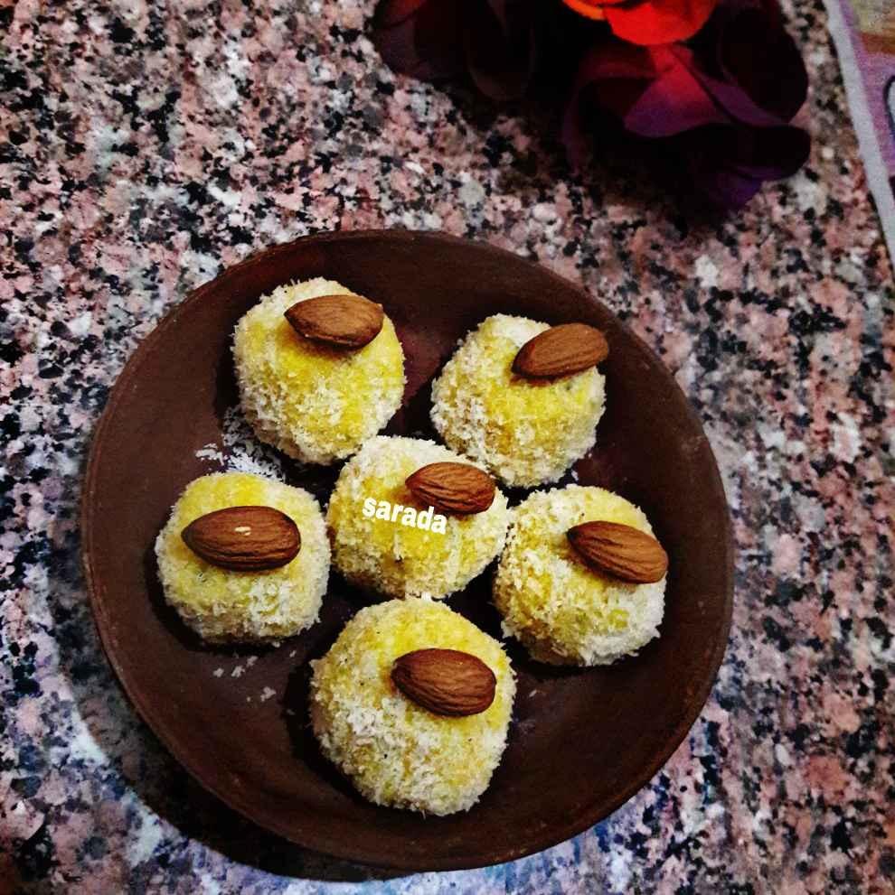 How to make Mango paneer  sandesh delight