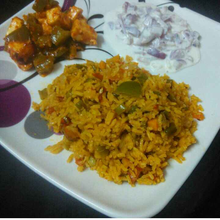 Photo of Vegetable biriyani by Saranya Sridharan at BetterButter
