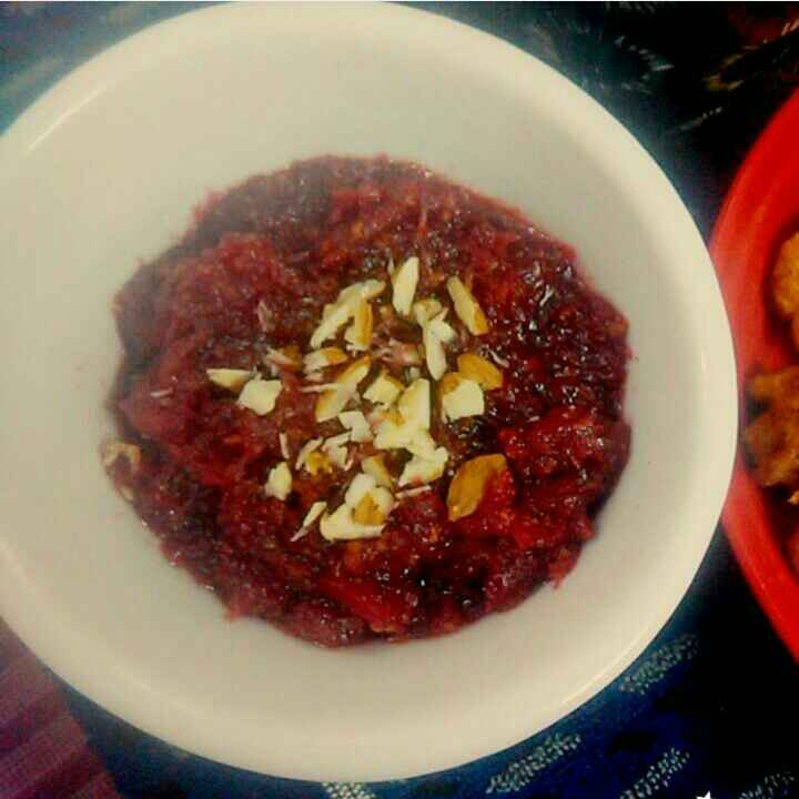 How to make Apple Beetroot Carrot Halwa
