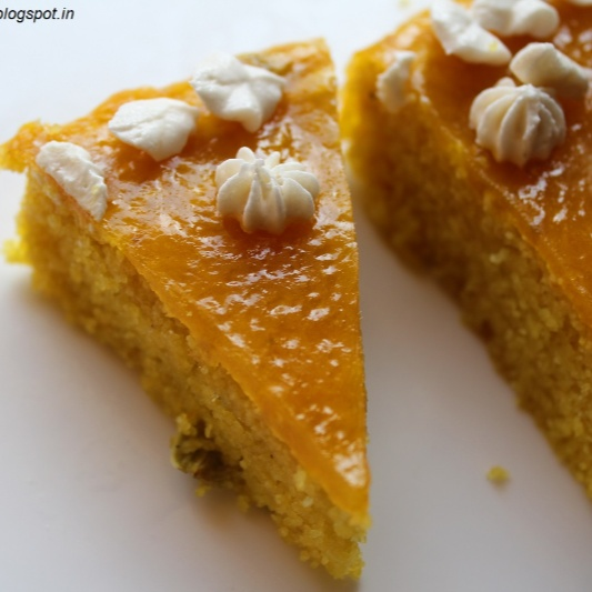 How to make EGGLESS MANGO SEMOLINA CAKE