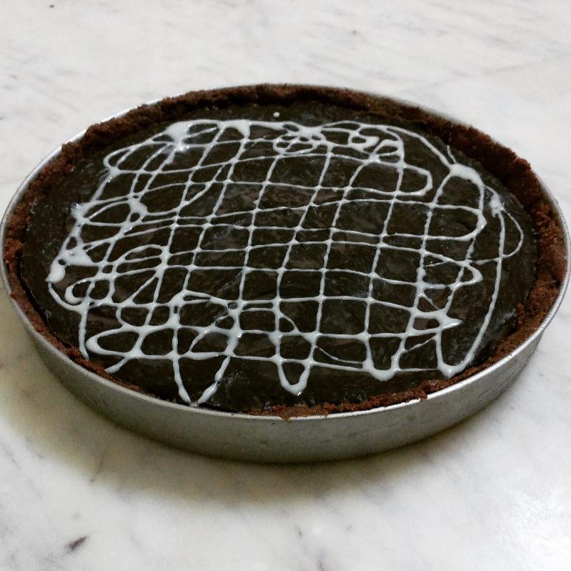 How to make No Bake Chocolate Key lime Pie