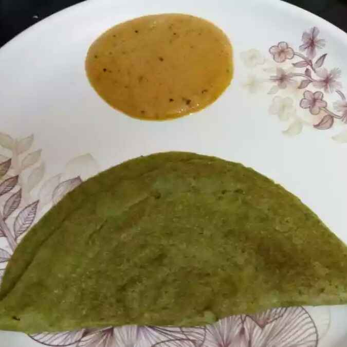 How to make Moong dal dosa/Pesarattu dosa