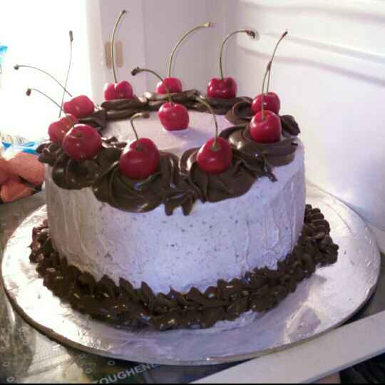 Photo of Bajra cake with jamun fruit cream frosting by saranya sathish at BetterButter
