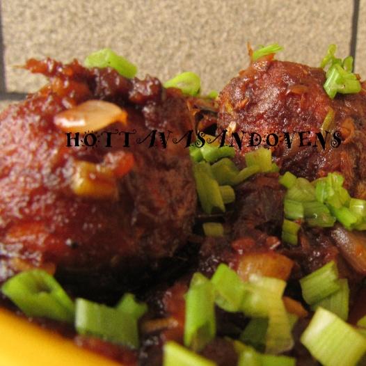 How to make Paneer Mango Manchurian