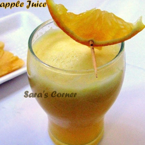 How to make Orange Pineapple Juice