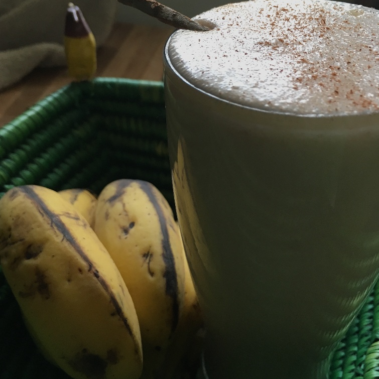 Photo of Banana Cinnamon Smoothie by Sarenya Dhevi at BetterButter