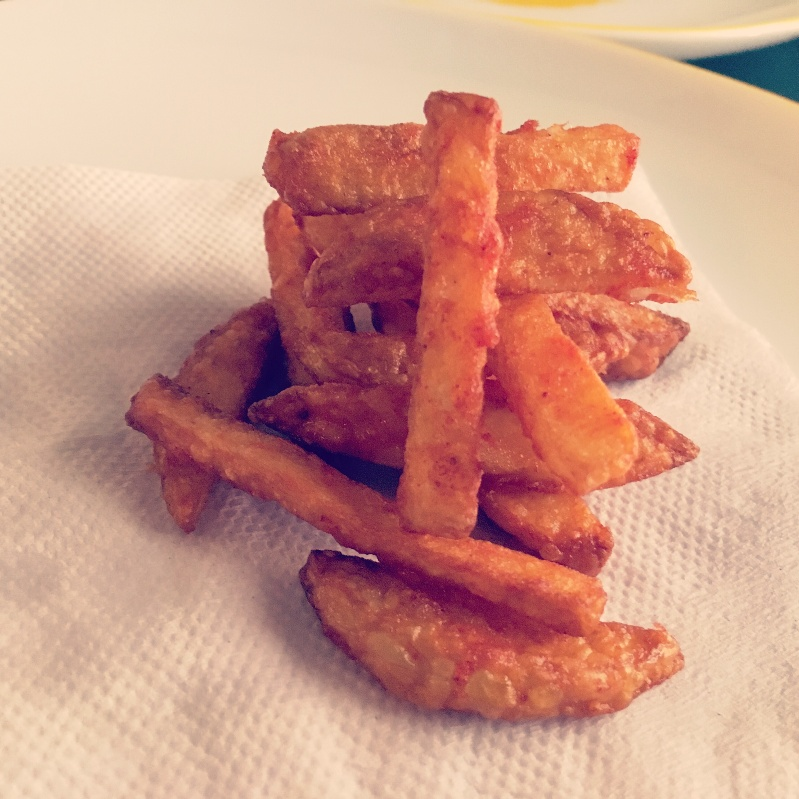 Photo of Spicy chilli potato fries by Sarenya Dhevi at BetterButter