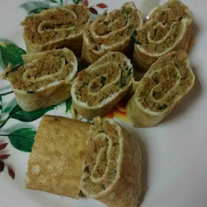 Photo of Nutrela Omlette rolls by Sarika Singh at BetterButter