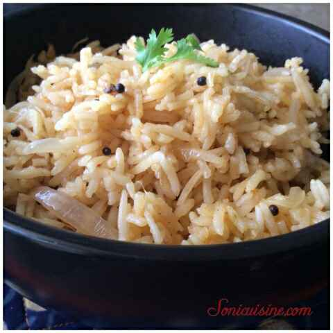 Photo of Cardamom flavoured aromatic onion pulav by Sarika Singh at BetterButter