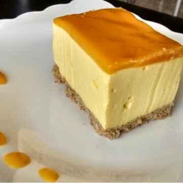 How to make Low fat veg mango cheese cake
