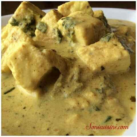 How to make Methi Paneer Curry