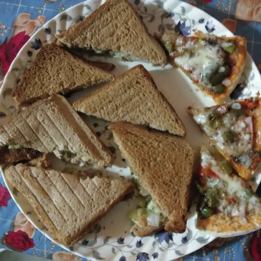 Photo of brown bread grill sanwduich by Sarmistha saha at BetterButter