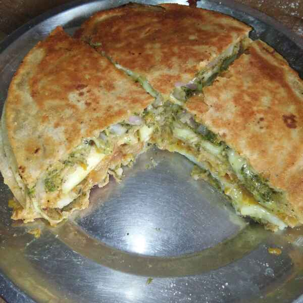 How to make Bombay Chapathi Sandwich