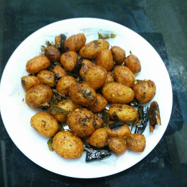 How to make Potato chat fry