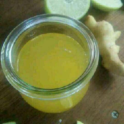 How to make Ginger lemon tea