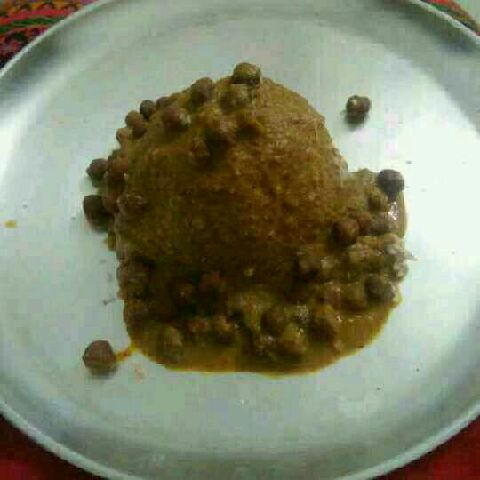How to make Puttu kadala curry