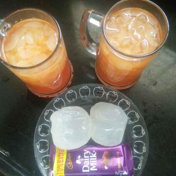 How to make Ice Apple sarbath