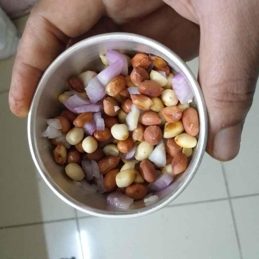 Photo of Groundnut salad by Sarojam Arumugam at BetterButter