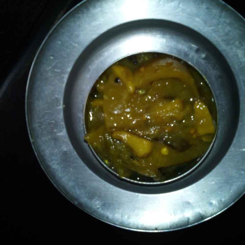 Photo of Lemon yellow pickle by Sarojam Arumugam at BetterButter